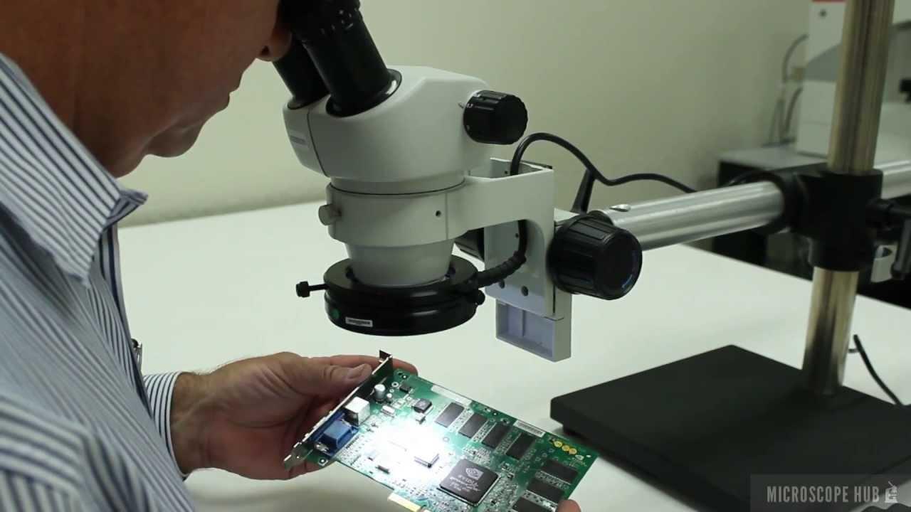 ELZ Series by Scienscope P//N ELZ-PK3-E1 Stereo Zoom Binocular Microscope Inspection System