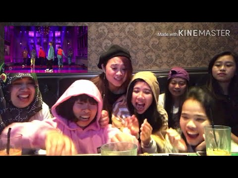 BTS MICDROP at SNL (REACTION rempong) 😂