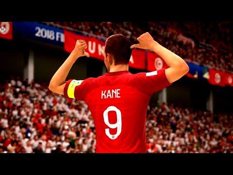 Tunisia vs England FIFA World Cup Russia 2018 || FIFA 18 Gameplay 1080p 60fps