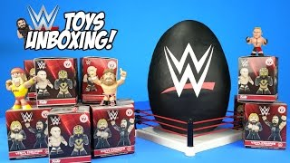 WWE Toys Unboxing + Hot Wheels Cars & Superhero Play-Doh Surprise Egg with WWE Wrestling Toys