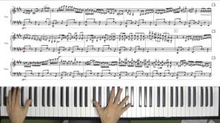 Fantasie Impromptu Solo Piano Jazz Arrangement with Sheet Music by Jacob Koller