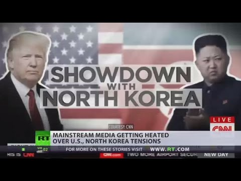 'We are sending an armada' MSM getting heated over US, North Korea tensions