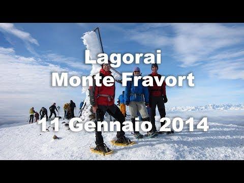 Lagorai - Monte Fravort - 11 Gennaio 2014 - Ciaspole