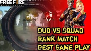 Free Fire Gameplay I Duo Vs Squad