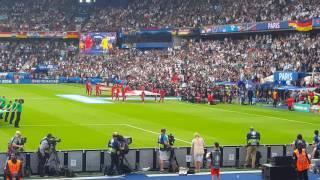 vuclip Northern Ireland v Germany euro 2016. Players entrance.   GAWA
