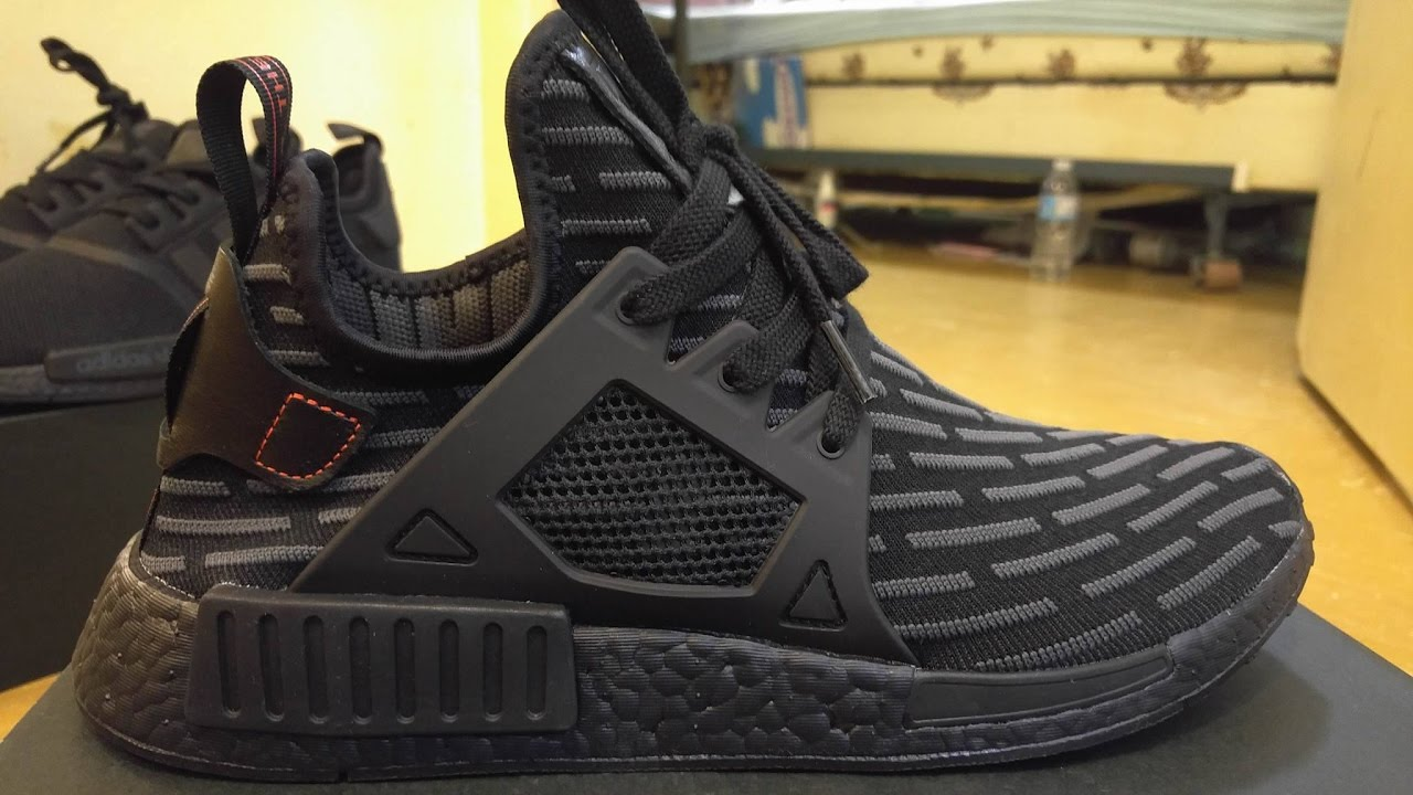 the best attitude 0436c c02b1 NMD XR1 Triple Black Review