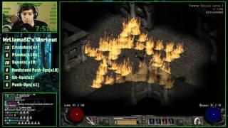Diablo 2 - SGDQ Any% Assassin Practice Run