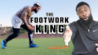 How NFL Players Train to Become ELITE: Meet the Footwork King