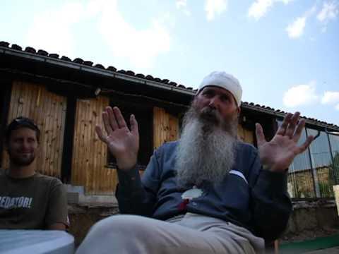 Bektashi Sufi dervish from Tetovo, Macedonia
