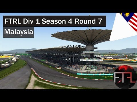 FTRL - Division 1 - Round 7 - Malaysia