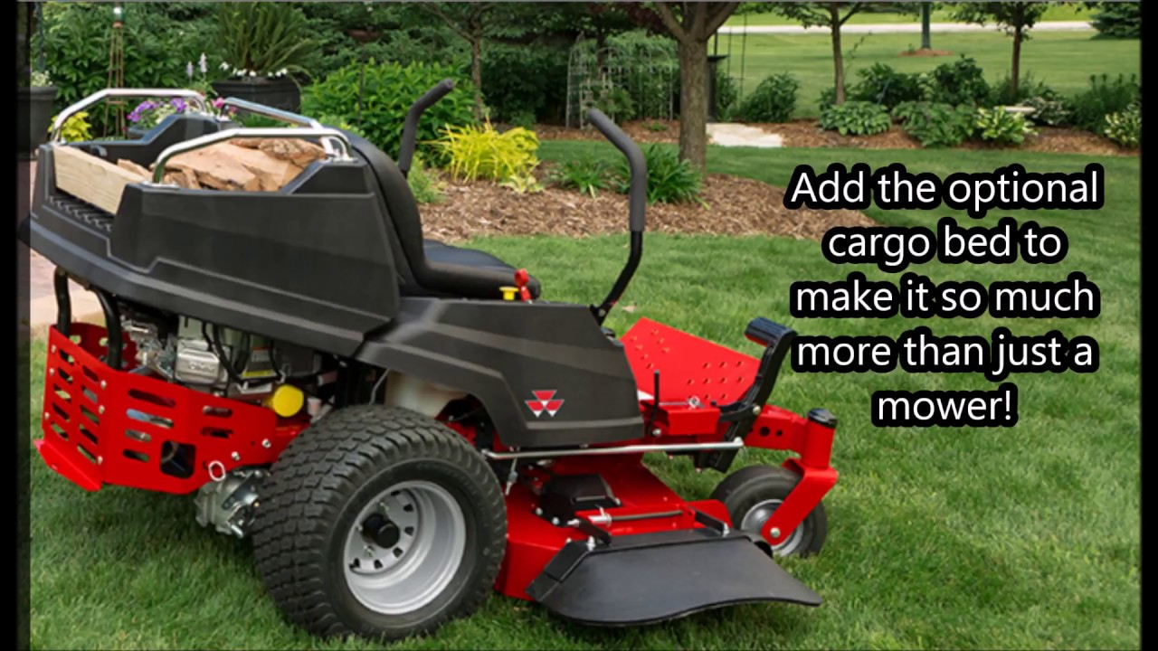 Massey Ferguson 2400 : Massey ferguson series zero turn mower youtube