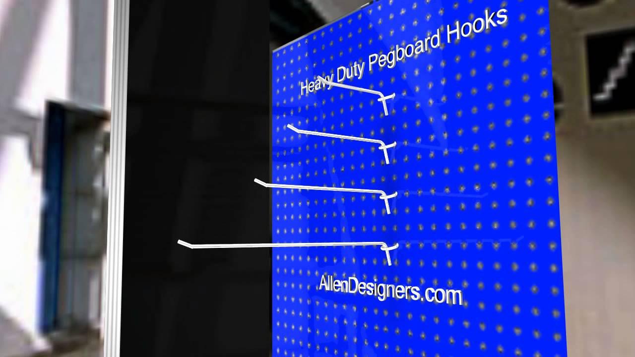 Pegboard Hooks Heavy Duty DIY YouTube