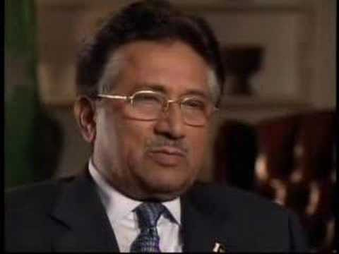 President Musharraf Interview with charlie rose Part 1