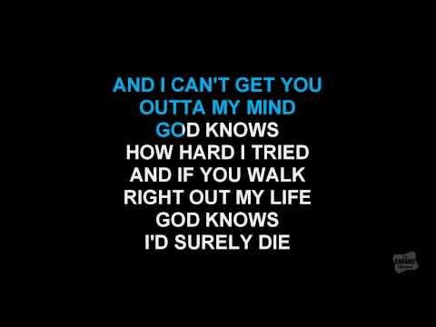 Breathe Again in the style of Toni Braxton karaoke video with lyrics