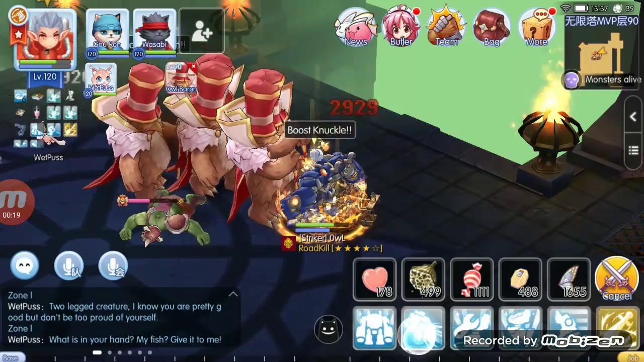 Mechanic BK build ET test - Ragnarok Mobile Eternal Love CN