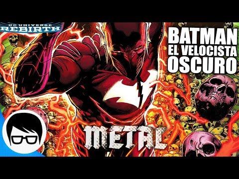 METAL - BATMAN EL VELOCISTA OSCURO   BATMAN The Red Death #1   COMIC NARRADO