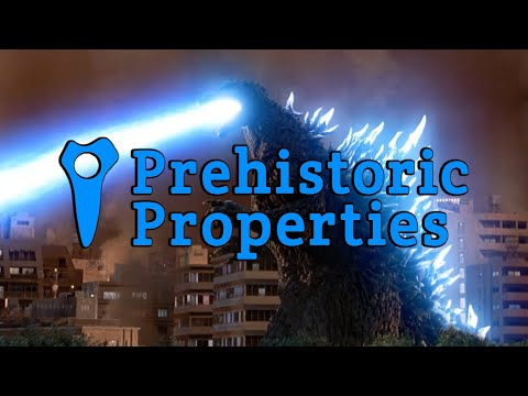 Godzilla Tales: Prehistoric Properties