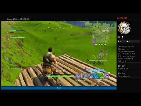 Fortnite Crazy Sniper shot from 1000... meters away