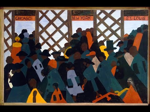 Jacob Lawrence, The Migration Series (*long version*)