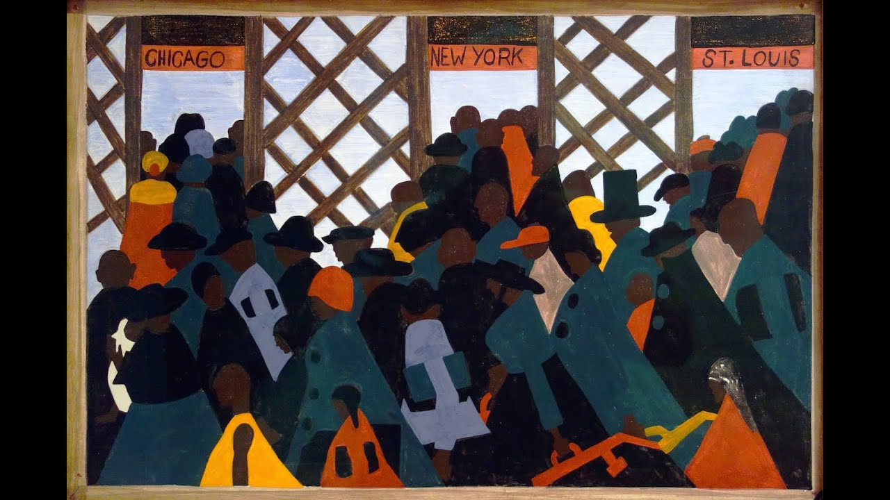 jacob lawrence  the migration series   long version