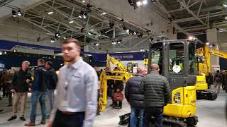Video still for Komatsu Hall Walkaround at bauma 2019
