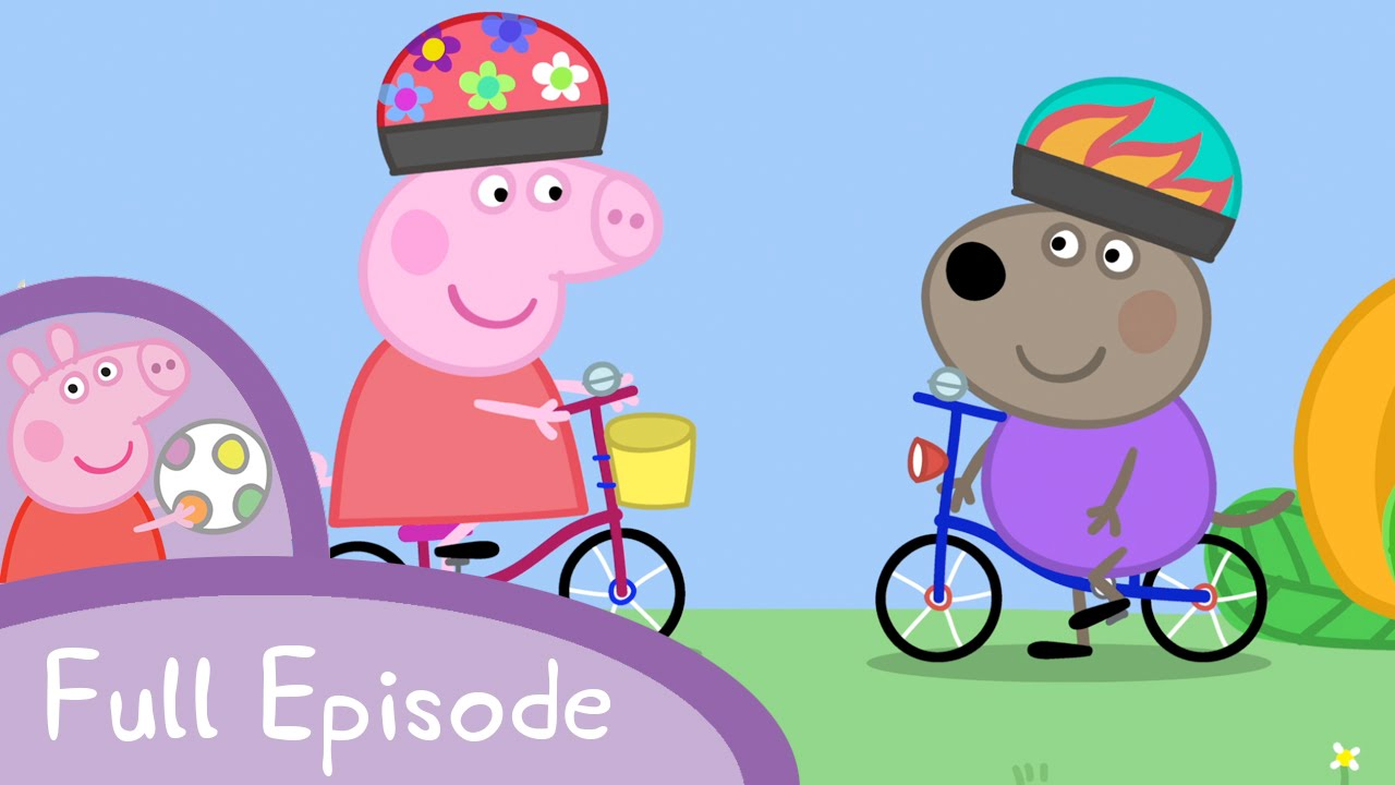 Peppa Pig Bicycles Full Episode