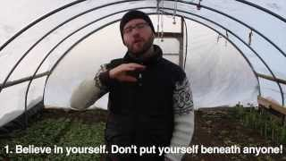 Ask The Urban Farmer -- Top 5 pieces of advice for starting your urban farm