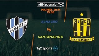 Almagro vs Deportivo Santama. full match