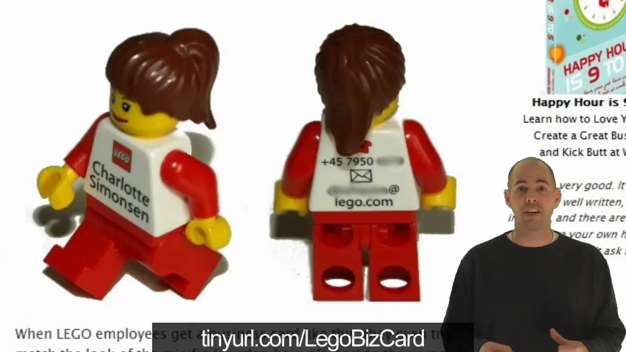 Awesomeology Episode 33 - Lego Business Cards, Topless Coffee Shop ...