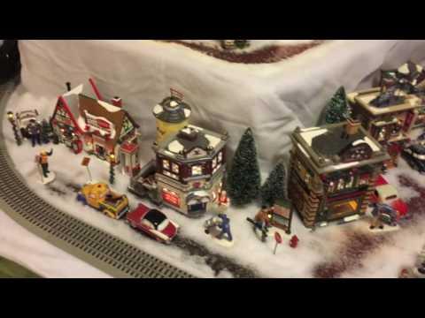 2016 Department 56 Snow Village From The Schwab's
