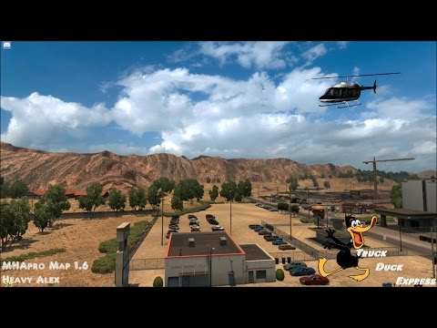 American Truck Simulator #427 Ralph Take Peggy and Earl for a ride MHApro Map 1 6