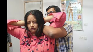 Chiropractic on cervical and shoulder pain treatment in India by Dr. Rajneesh kant 9308511357,