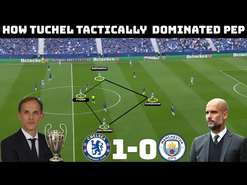 Tactical Analysis : Chelsea 1 - 0 Manchester City | How Tuchel Secured The Champions League |