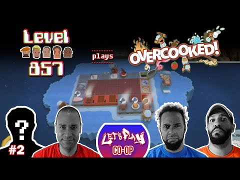 Let's Play Co-op: Overcooked! Special Edition | Nintendo Switch | 4-player gameplay | Walkthrough #2