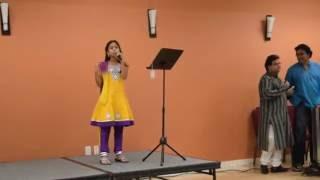GanaNayakaya song by Sanjana ( Ekadantaya Vakratundaya Gauri Tanayaya Dhimahi )