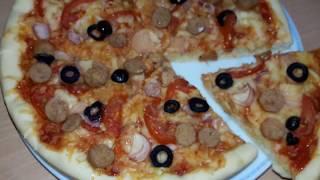 American Pizza Recipe    আমেরিকান পিজ্জা তৈরির সহজ রেসিপি    by Tuly Hasan