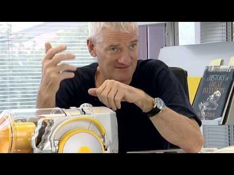 James Dyson Explains Robot Vacuum Technology