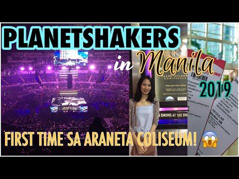 FIRST TIME SA ARANETA COLISEUM!!! | PLANETSHAKERS CONFERENCE IN MANILA 2019 | Princess Pagaduan