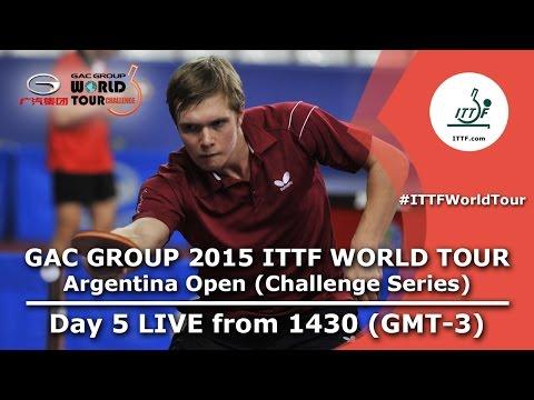 GAC Group 2015 ITTF World Tour Argentina Open - Day 5 Afternoon