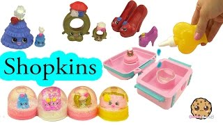 Shopkins Jewelry Pack Glitzi Globes Water Play Snow Dome Maker Playset - Cookieswirlc