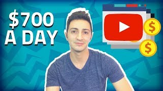 HOW TO MAKE $700/DAY ON YOUTUBE WITHOUT MAKING VIDEOS