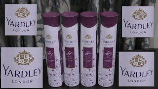 Review of Yardley London Lace Satin Daily Wear Perfume for Women