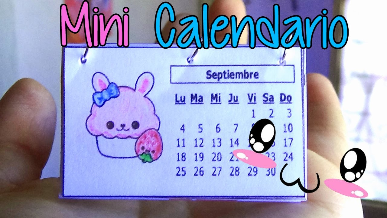 Ideas para organizarte haz un mini calendario f cil - Ideas para hacer un calendario ...