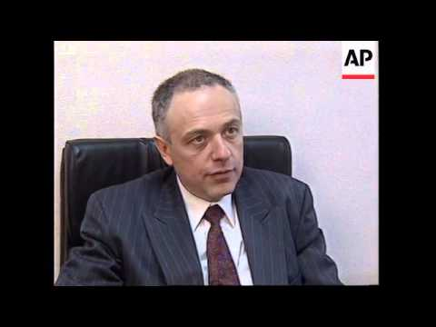 RUSSIA: MOSCOW: KOZYREV SPEAKS OUT FOR FIRST TIME