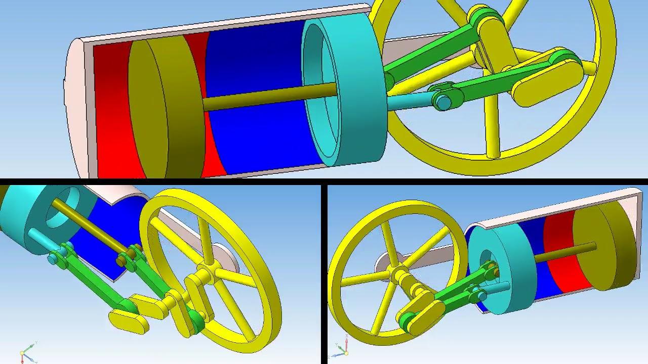 Beta Stirling Motor