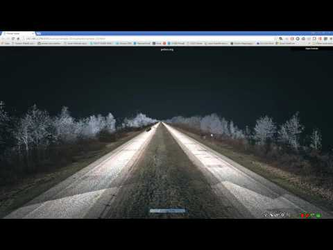 Mobile LiDAR Data in Your Web Browser, By Spicer Group