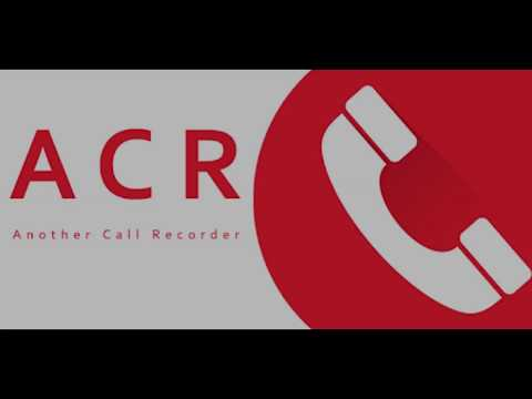 Обзор ACR запись звонков для Андроид