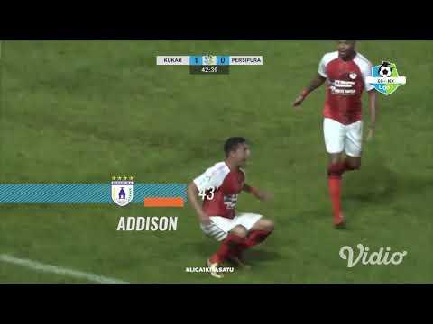 [Pekan 22] Cuplikan Pertandingan Mitra Kukar FC vs Persipura Jayapura, 17 September 2018