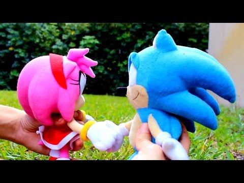 Sonic Plush: SonAmy