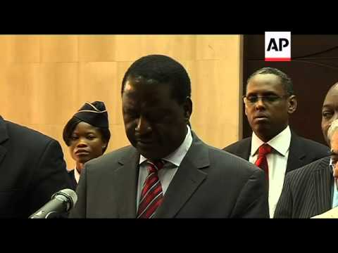 Kenyan PM leaves after attempt to settle political tension fails, sots